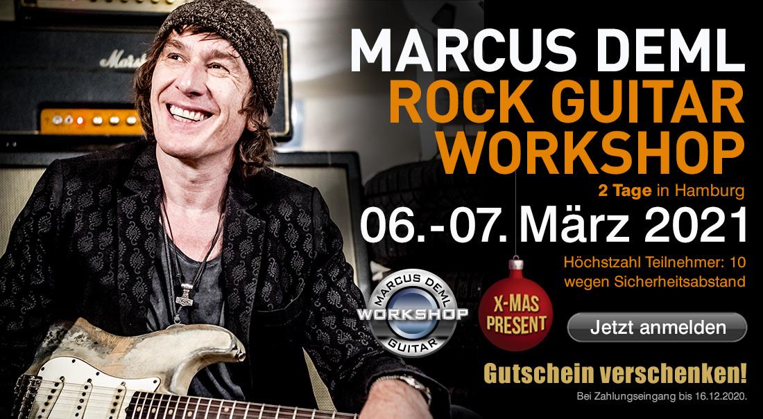 Marcus Deml Rock Guitar Workshop